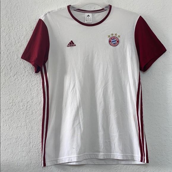 ✅Men Adidas Bayern Munich Soccer Shirt Size L